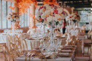 adornos de mesa para bodas,